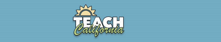 TEACH California banner image